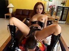 Incredible pornstar Annie Cruz in best blowjob, anal sex clip