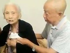 Asian Elder Couple