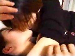 일본 레즈비언 섹시한중년여성의 키스