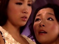 Horny Japanese girl Ayaka Tomada, Aya Asakura in Hottest lesbian, 69 JAV video