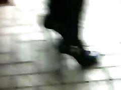 High Heels Stilleto Ankle Shoes Japanese Candid