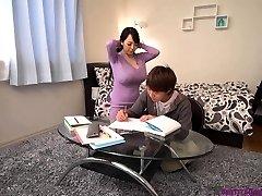 Huge-boobed asian teacher huge boobs