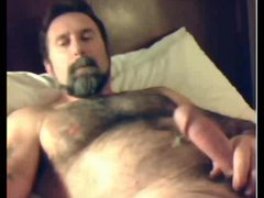 Fur Covered Bear Shoots His load