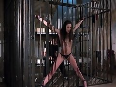 Teen is punished and humiliated in rough plow bdsm bondage