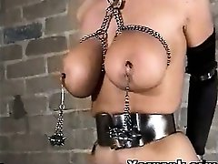 Bondage Girl Spanked Arrogantly