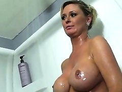 Busty Mature Allison Kilgore Rough Interracial Anal DP Doubl