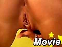 Beautiful blonde babe Shelby Bell playing with her clit