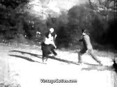 The Winner Fucks the Girl in the Donk (1920s Antique)