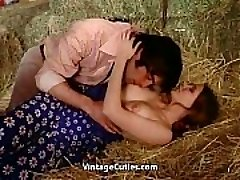 Softcore Lovemaking Right in the Barn