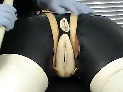 Hottest homemade BDSM, Latex sex video