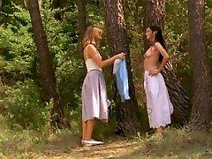 GERALDINE CHAPLIN, DOMINIQUE SANDA Nude (1980)