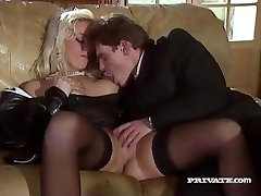 Silvia Saint Pulverizes the Lawyer and Drains His Jism
