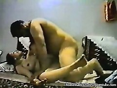 Vintage arab amateur duo make hard homemade rectal