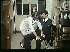 Fransk modne elsker spanking og fucking - vintage
