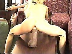 एक विशाल dildo