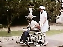 Hairy Nurse And A Patient Having Romp