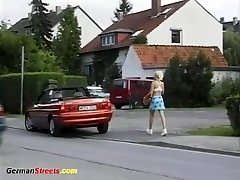 schoolgirl picked for for crazy ride