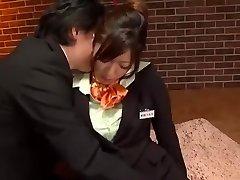 Best Japanese whore Yumeka Manatsu in Exotic Tights, Onanism JAV video