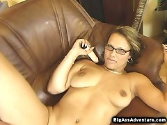 Robert filled all of her holes with cock and dildo