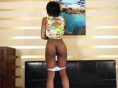 18year old Black Beauty Porn Debut