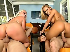 Today's Ass Parade update features two sexy blonde babes that are off the charts. Angel Vain and Nicole Aniston put on a fucking show for all you loyal Bang Bros fans.