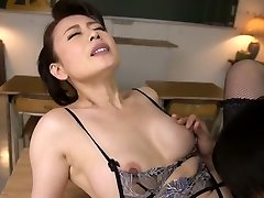 Fabulous Japanese model in Crazy Mature, Stocking JAV video