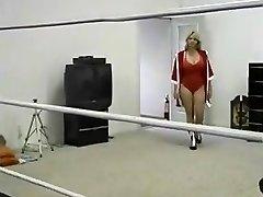 Plump Milf Ring Wrestling