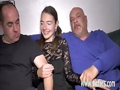 Extreme teenie double fisted and fucked