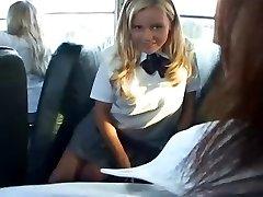 Bree - White Student Bus Slut