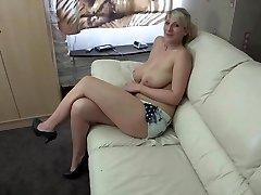 Yam-sized Titty Slut Milf Wants To Drink! Joi! WANK!