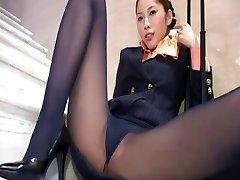 Japonski pantyhose upskirt