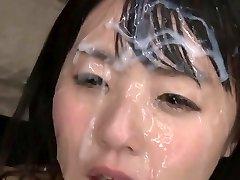 Chinese Bukkake Queen