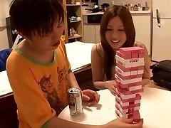 Horny Japonský suka Yui Tatsumi v Úžasné chudá, malé prsia JAVA-film