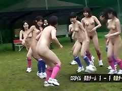 After a nude soccer game a suck off is the best