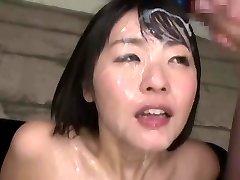 japonský bukkake kráľovná