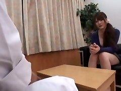 horny japonská dievča momoka nishina v nádhernej lekárske java-film