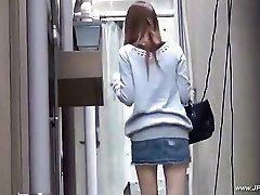 Oriental femmes visit toilet.18
