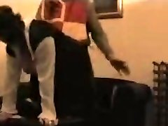 Free voyeur fuck-fest video shows two lovers shagging