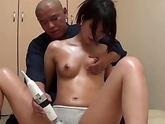 Japanese massage tear up