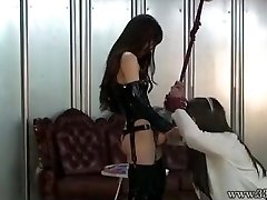 Japanese Femdom Emiru BDSM Belt Cock Fucking