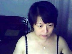 Japanese  lady on webcam