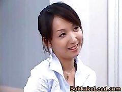 Stellar real chinese Shiho getting jizz part3
