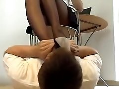 Sexual feet smelling