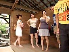 Hottest Japanese girl Sumire Shiratori, Hitomi Yuki, Reina Nakama in Hottest Compilation, Outdoor JAV flick