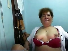Ehlen Valdes zrele Пинэ od Manile prikazivanje скайпу