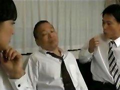 Japanski Žene I Muža Šef 03