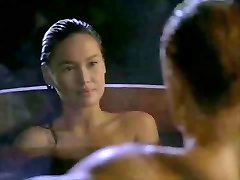 Asian Tia Carrere heads for Dolph Lundgrens Phat Blond Cock