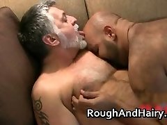 Two gay dudes suck lollipop and get pounded part1