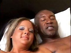 Sophia prefers a black cock