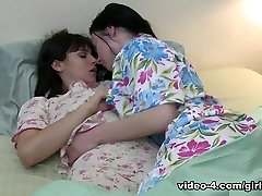 Veruca James & Violet Starr in Cheer Squad Sleepovers #21, Episode #02 - GirlfriendsFilms